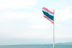 National flag of Thailand Royalty Free Stock Photos