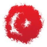 National flag of Turkey Stock Image
