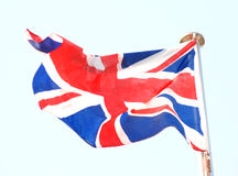 The national flag of Uk Stock Images