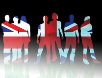National flag united kingdom Stock Photo