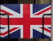 flag of the United Kingdom (UK) aka Union Jack postcard stock image