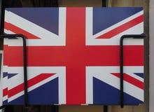 flag of the United Kingdom (UK) aka Union Jack postcard stock images