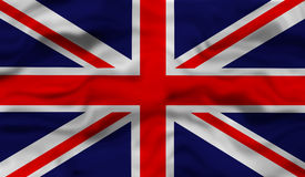 National flag of the United Kingdom Royalty Free Stock Image