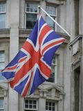 National flag of the United Kingdom stock images