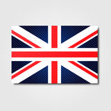 National flag of United Kingdom Royalty Free Stock Photography