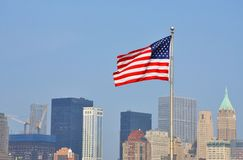 National Flag of United States Stock Photography