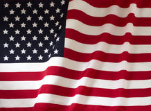National flag of the United States Royalty Free Stock Photography