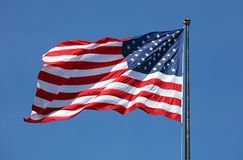 National flag usa. In outdoor stock image