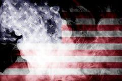 National flag of USA stock photos
