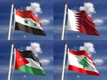 National Flags Stock Photos