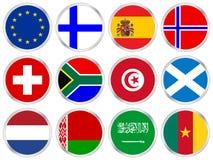 Free National Flags Icon Set 3 Stock Photos - 6559143