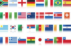 National Flags Of Countries Royalty Free Stock Photo