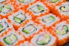 National food susi. Japanese national food susi. studio macro shoot stock images