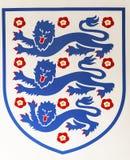National Football Emblem Royalty Free Stock Photography