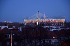 National football stadium in Warsaw Stock Photo
