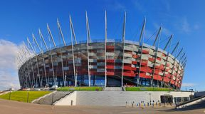 National football stadium Royalty Free Stock Images