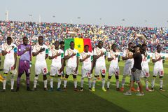 National football team of Senegal Royalty Free Stock Photo