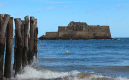 The National Fort from Saint Malo Stock Photo