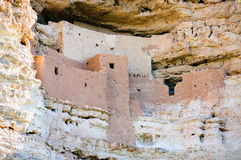 national för slottmontezumamonument Arkivfoto