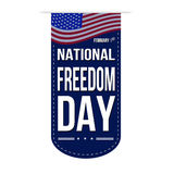 National Freedom Day banner design Stock Photography