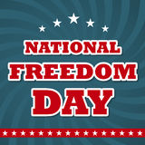 National Freedom Day Stock Photos