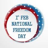 National Freedom Day Stock Image