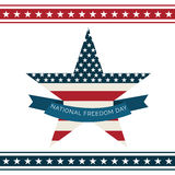 National Freedom Day. Stock Images