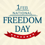 National Freedom Day Stock Photography