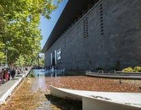 National Gallery Βικτώριας (διεθνούς), Μελβούρνη, Αυστραλία Στοκ Εικόνες