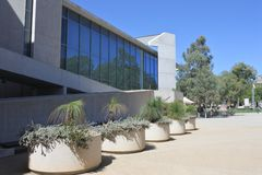 National Gallery of Australia in Canberra Australia Capital Territory. It is the national art museum of Australia holding more than 166,000 works of art stock photo