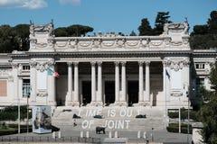 National Gallery av modern konst i Rome Arkivfoton