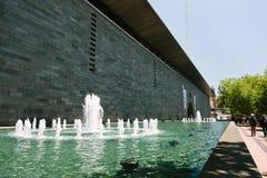 National Gallery av Victoria royaltyfri fotografi
