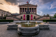 National Gallery, Berlin, Germany Royalty Free Stock Image