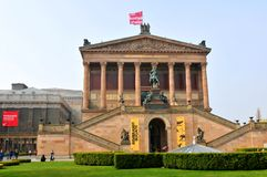 National Gallery in Berlin, Germany Stock Photo