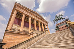 National gallery of Berlin Royalty Free Stock Images