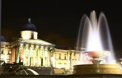 National Gallery bij Vierkant Trafalgar Stock Afbeelding