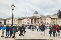 National Gallery building in London Stock Image
