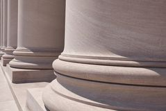 National Gallery Columns Royalty Free Stock Photography