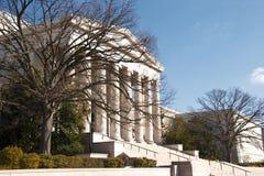 National Gallery da arte e de árvores desencapadas Imagem de Stock