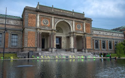 National Gallery danese a Copenhaghen, Danimarca Fotografia Stock Libera da Diritti