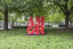 National Gallery de Art Sculpture Garden Love #2 fotos de archivo