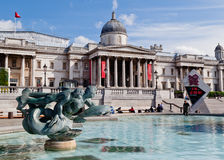 National Gallery de Londres Photographie stock