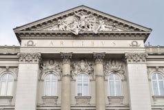 National Gallery der Kunst in Warschau Lizenzfreie Stockfotos
