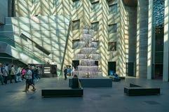 National Gallery do interior de Victoria Federation Court foto de stock