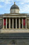 The National Gallery in the early morning light Stock Images