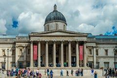 National Gallery en Londres Imágenes de archivo libres de regalías