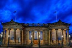 National Gallery escocês em Edinbrugh Imagens de Stock Royalty Free