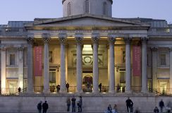National Gallery Facade Royalty Free Stock Image