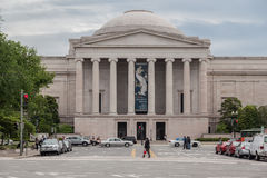 National Gallery Facade Washington DC Stock Photos