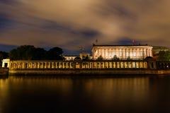 National Gallery i Berlin, Tyskland Arkivfoton